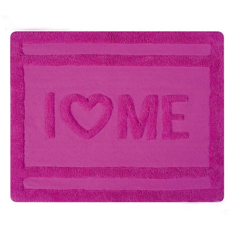 Коврик для ванной 55x65см Spirella LOVE, розовый
