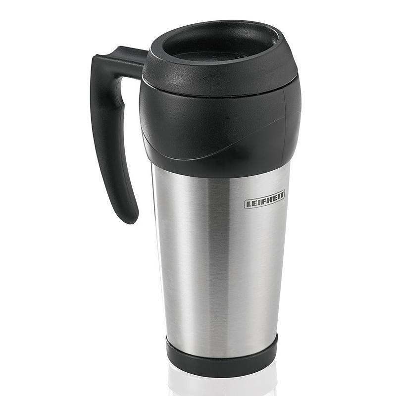 Термокружка Leifheit 500мл, цвет черный