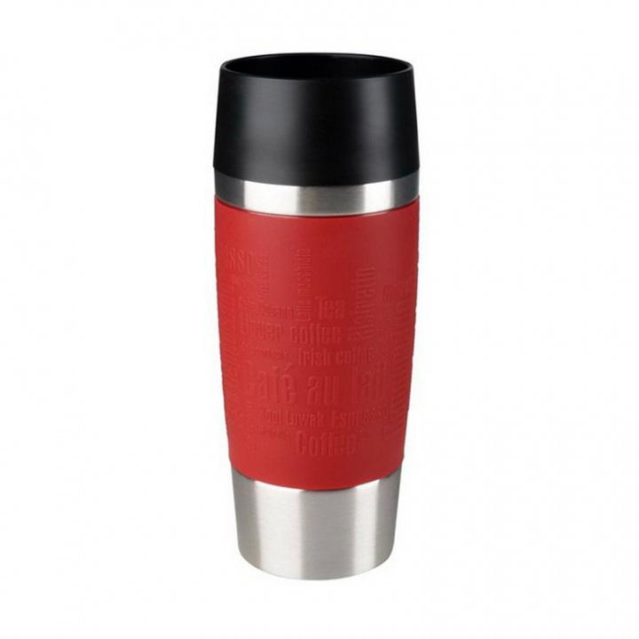 Термокружка EMSA TRAVEL MUG 360 мл, цвет красный