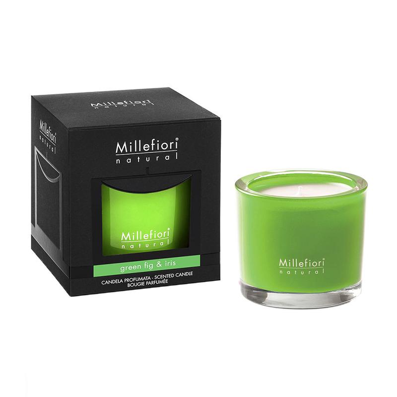 Ароматическая свеча Millefiori Milano Зеленый инжир