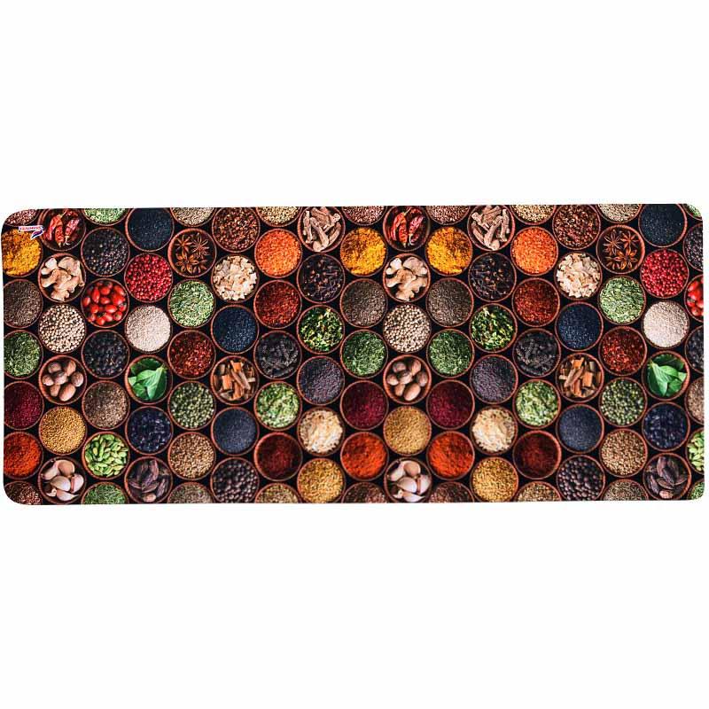 Коврик универсальный Shahintex Antistress, коричневый