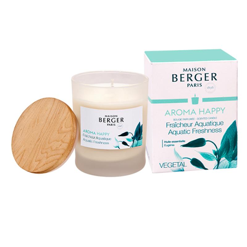 Свеча ароматическая Maison Berger Счастье 180гр