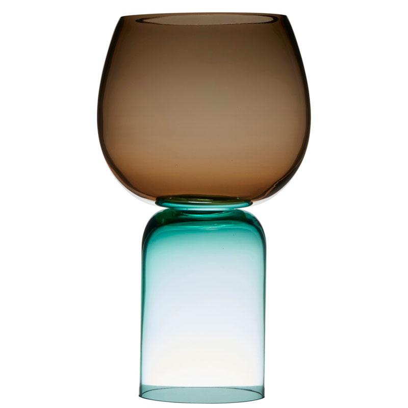 Ваза Hakbijl Glass Upside Down 50,5см