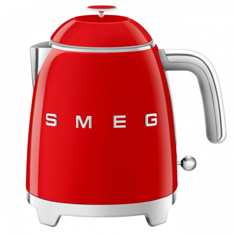 Чайник электрический Smeg 50's Style 0,8л, красный