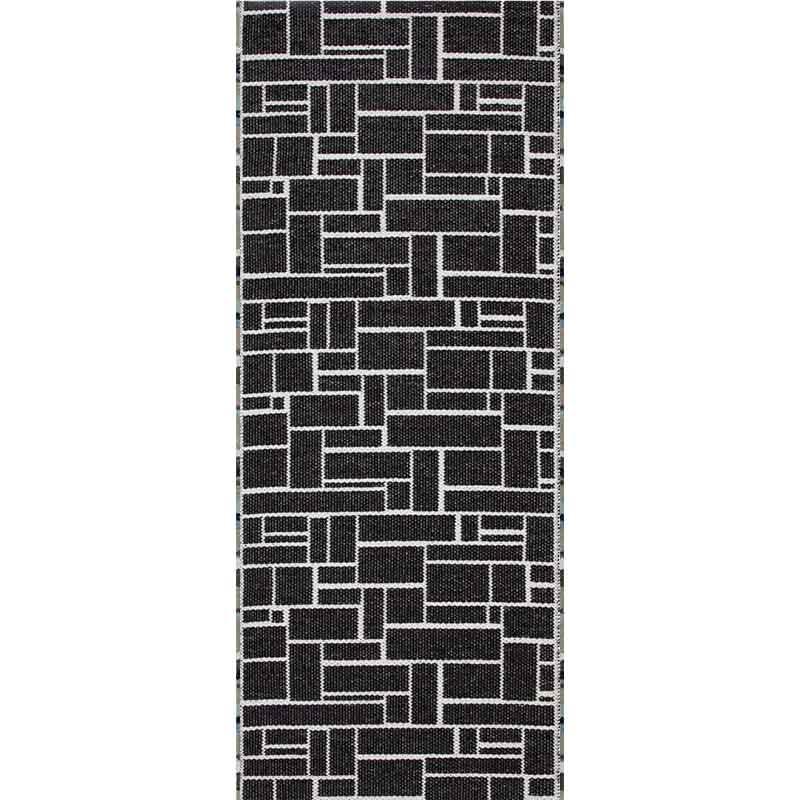 Коврик напольный двусторонний Swedy DAMA 60x120см, черно