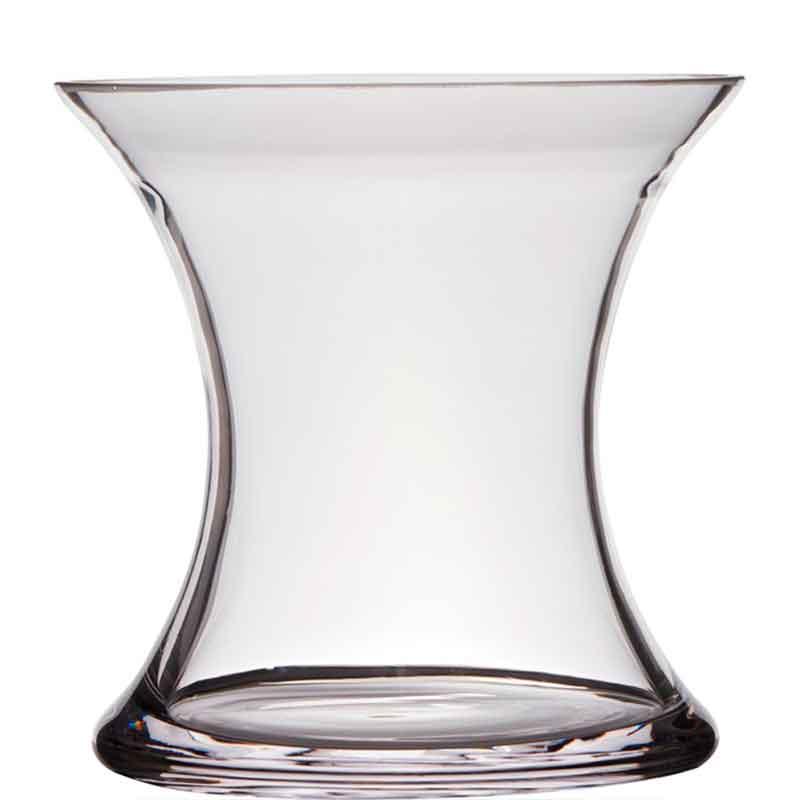 Ваза Hakbijl Glass X-vase 19x19см