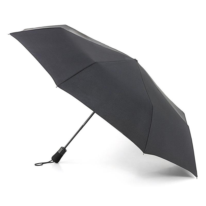 Зонт мужской Fulton купол 125см, черный