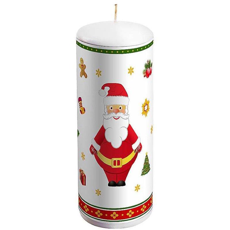 Свеча декоративная Mister Christmas Дед Мороз