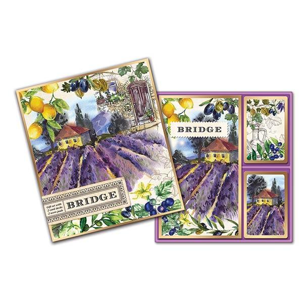 Игральные карты для Бриджа Michel design works