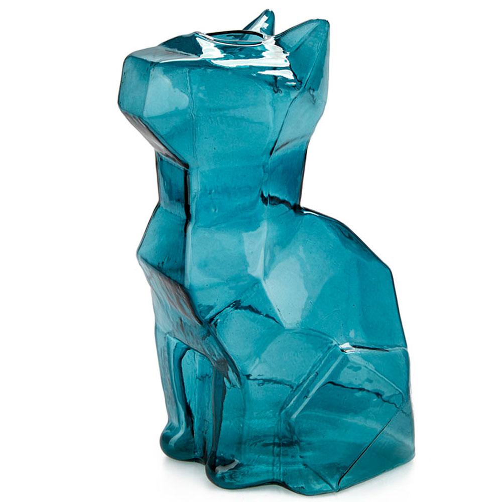 Ваза Balvi Cat, цвет синий