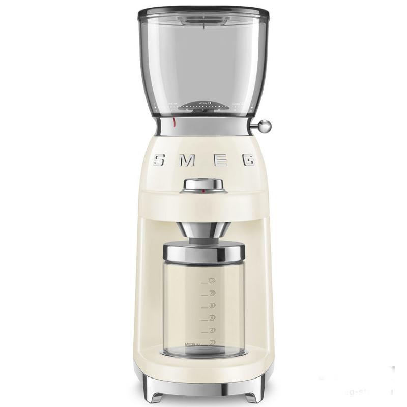 Кофемолка Smeg 50's Style, цвет кремовый