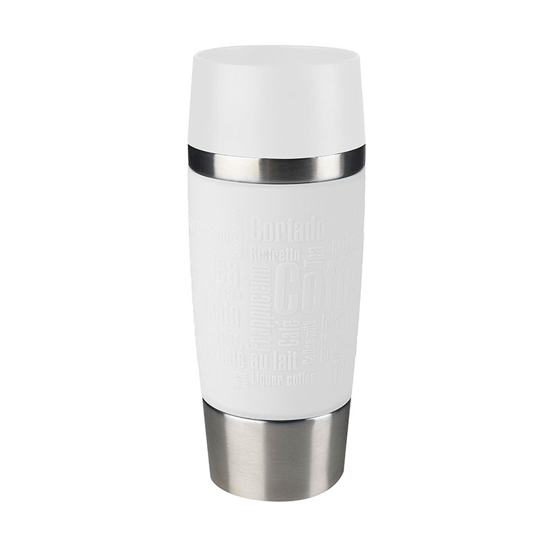 Термокружка EMSA TRAVEL MUG 360 мл, цвет белый
