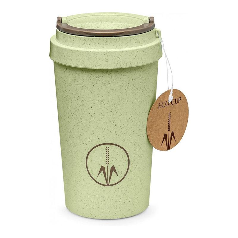 Термокружка Walmer ECO CUP 400 мл, цвет зеленый