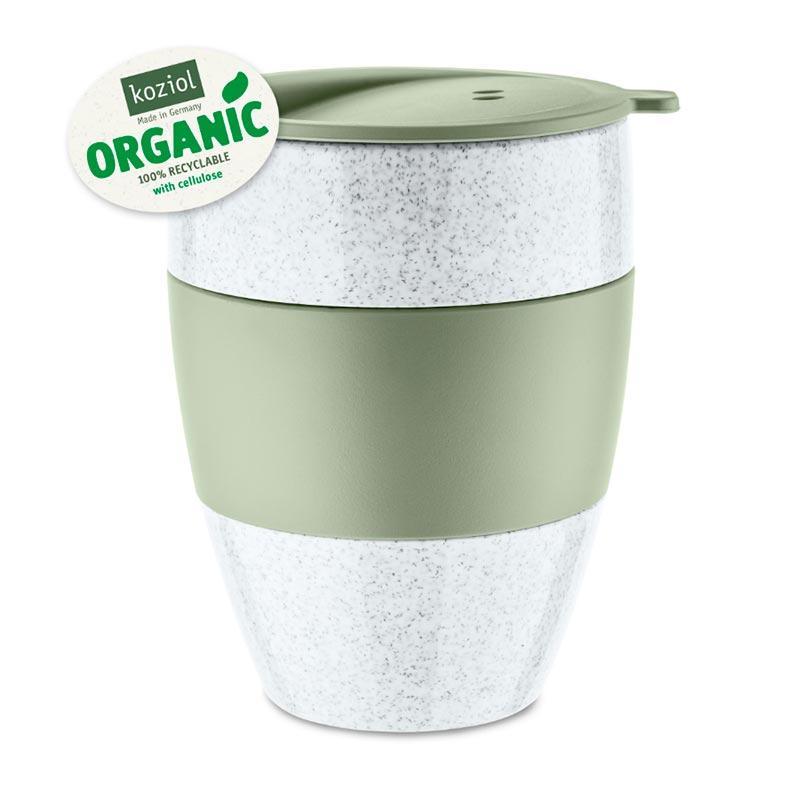 Термокружка Koziol Aroma To Go 2.0 Organic, цвет зеленый