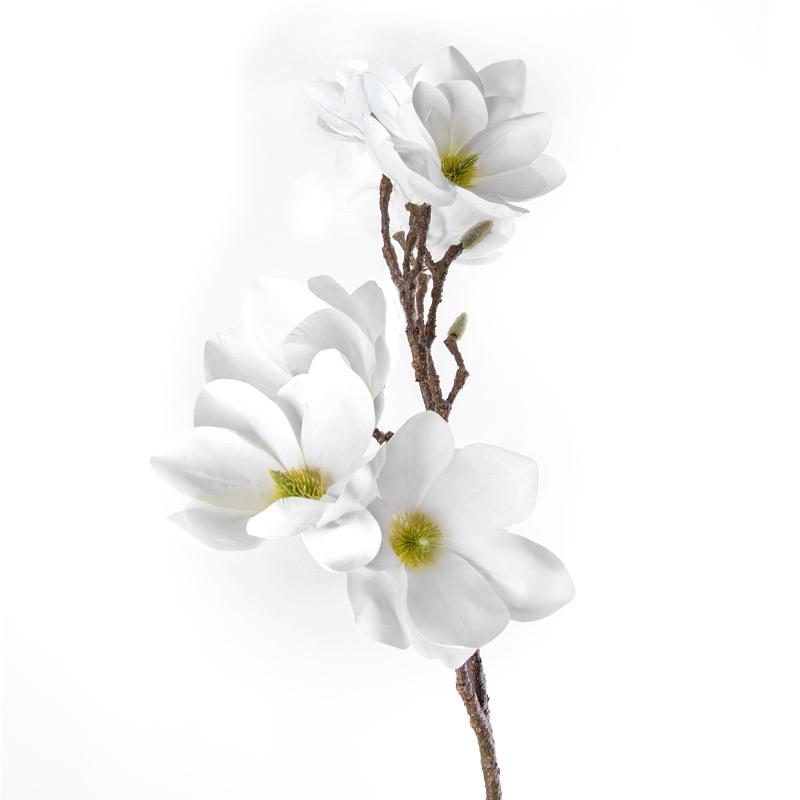 Искусственные цветы Silk ka Магнолия 84см, цвет
