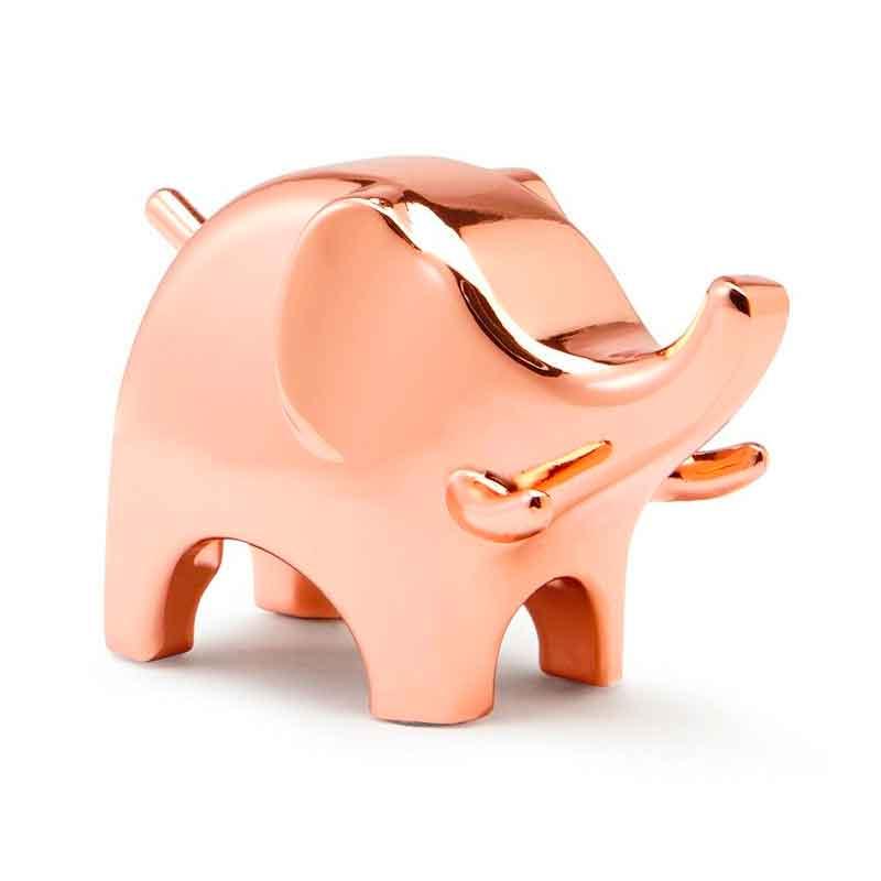 Подставка для украшений Umbra Anigram слон, цвет медный