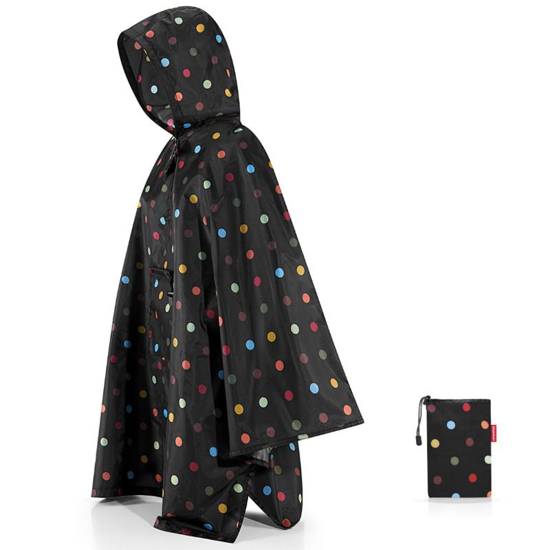 Дождевик Reisenthel Mini maxi dots, черный