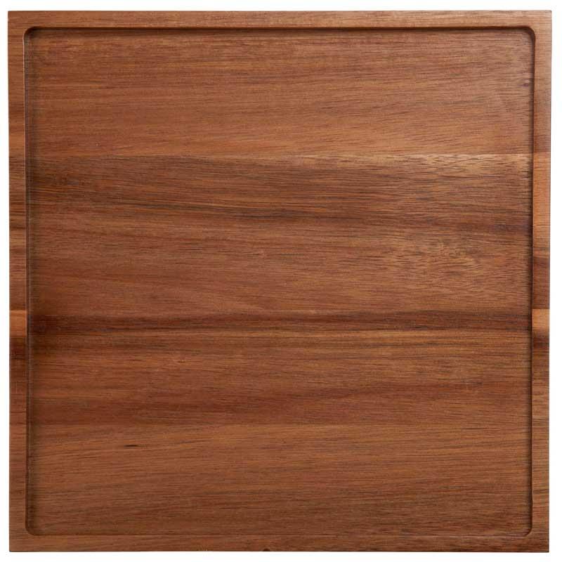 Поднос Asa Selection Wood Dark 25x25см
