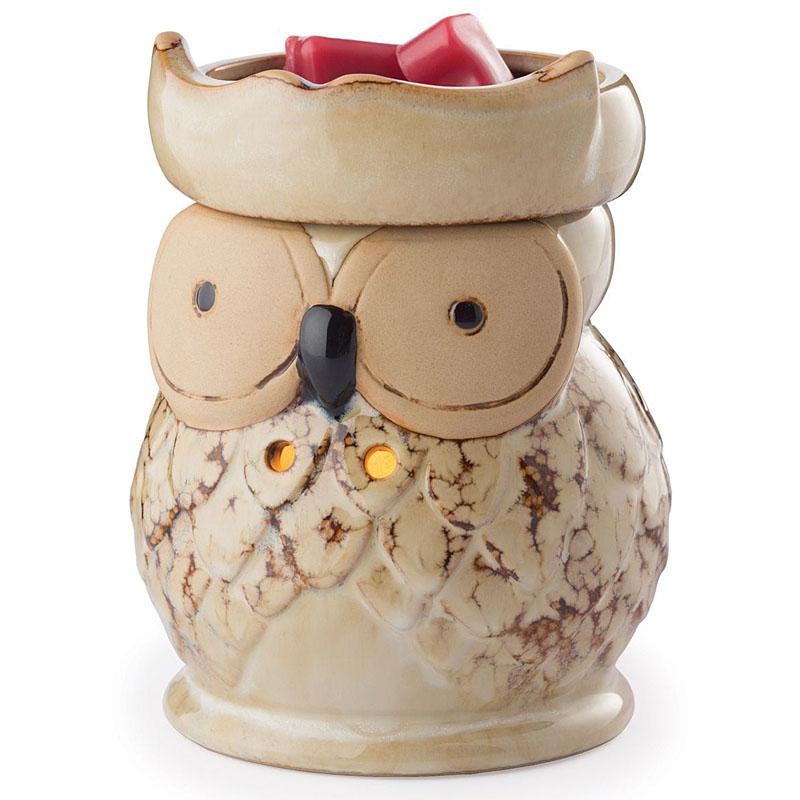 Аромасветильник настольный Candle Warmers Сова Round Illumination - Owl