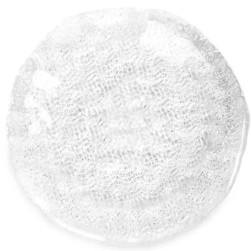 Тарелка IVV TRICOT, 15 см., цвет прозрачный