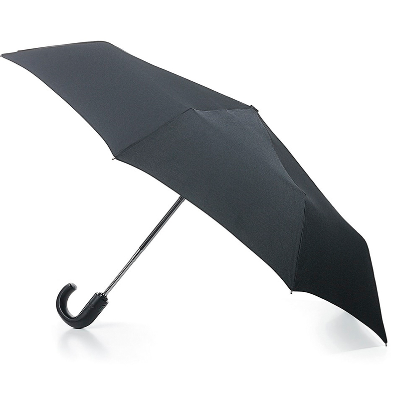 Зонт мужской автомат Fulton купол 100см, черный