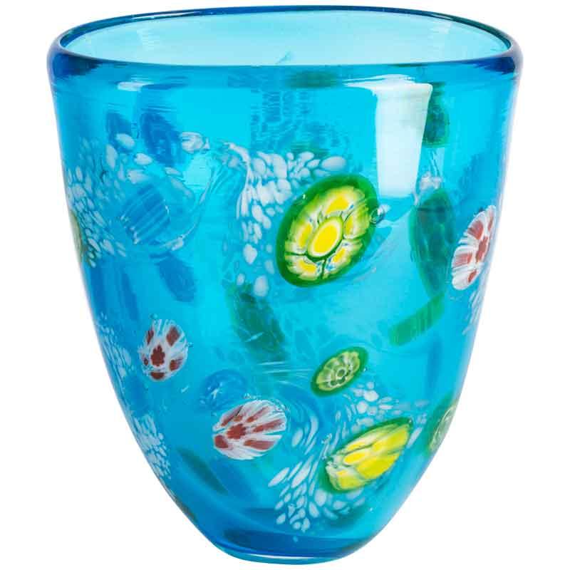 Ваза Art Glass Водопад 18см