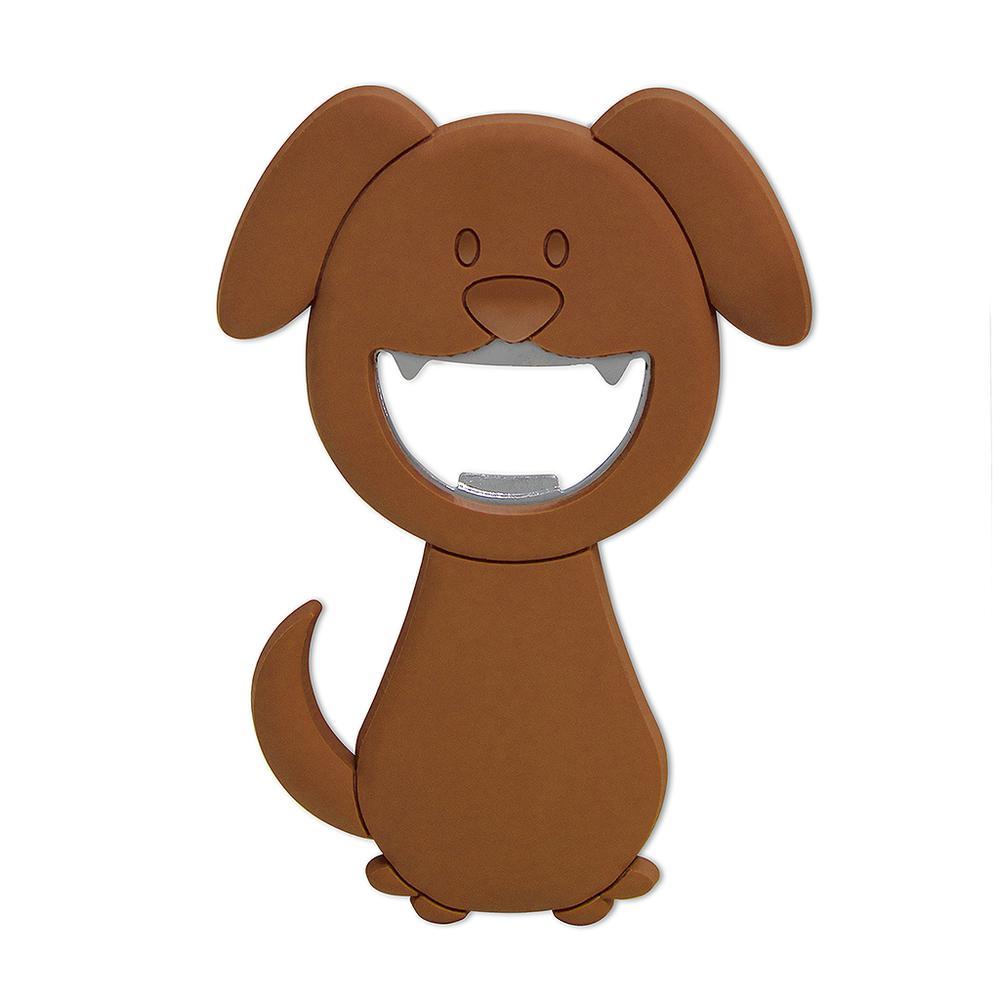 Открывалка магнитная Balvi Woof!, цвет коричневый