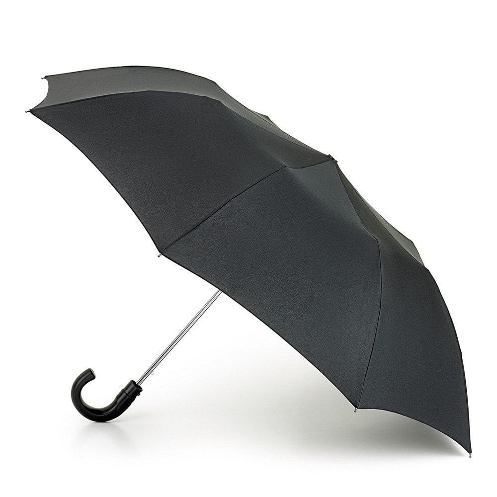 Зонт мужской полуавтомат Fulton купол 95см, черный