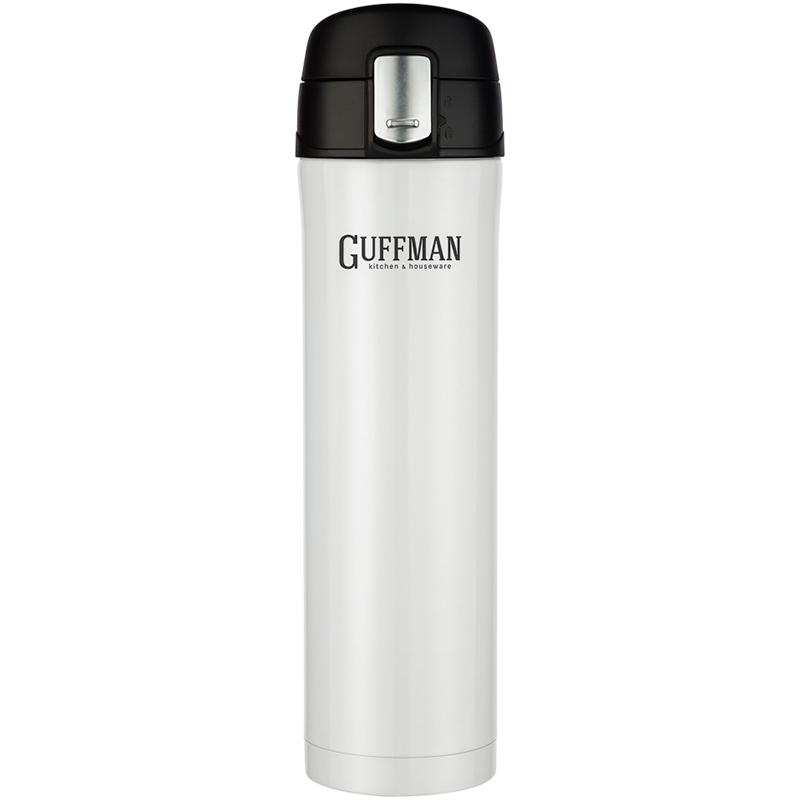 Термос 500мл Guffman Sport, белый
