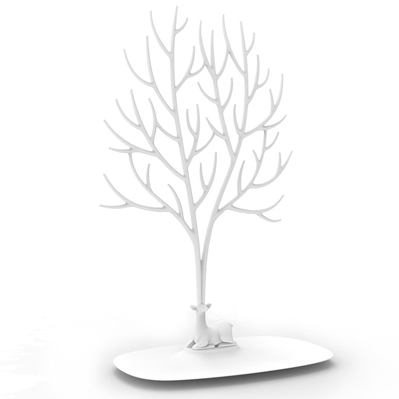 Органайзер для украшений Qualy Deer, белый