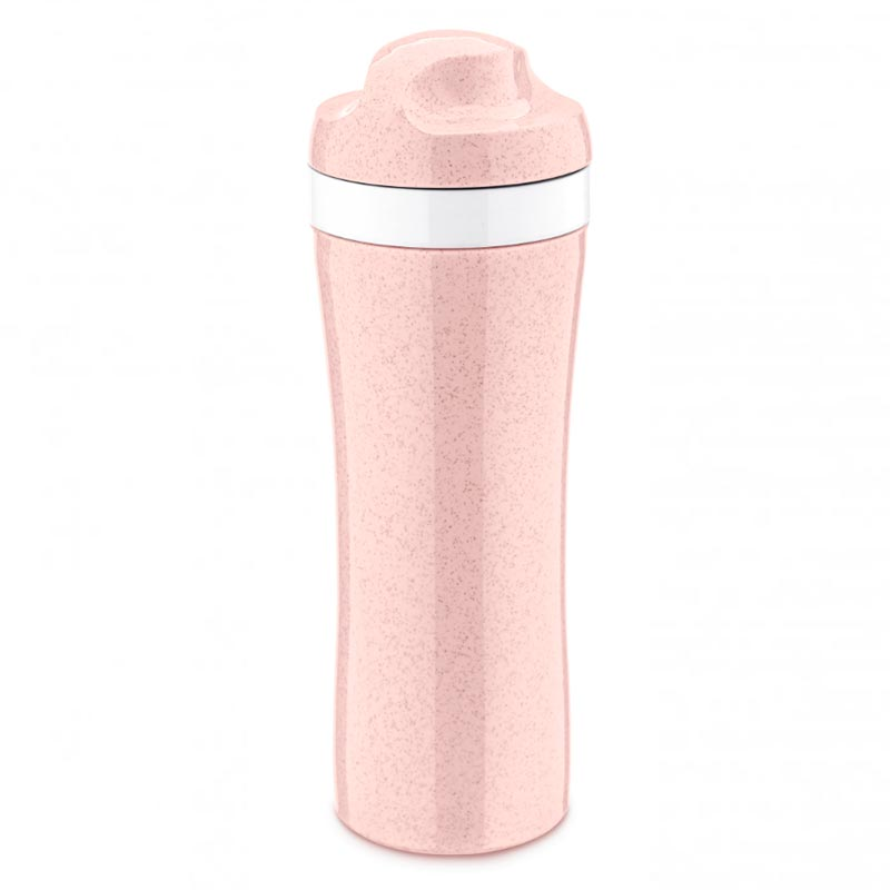 Бутылка Koziol Oase Organic, цвет розовый