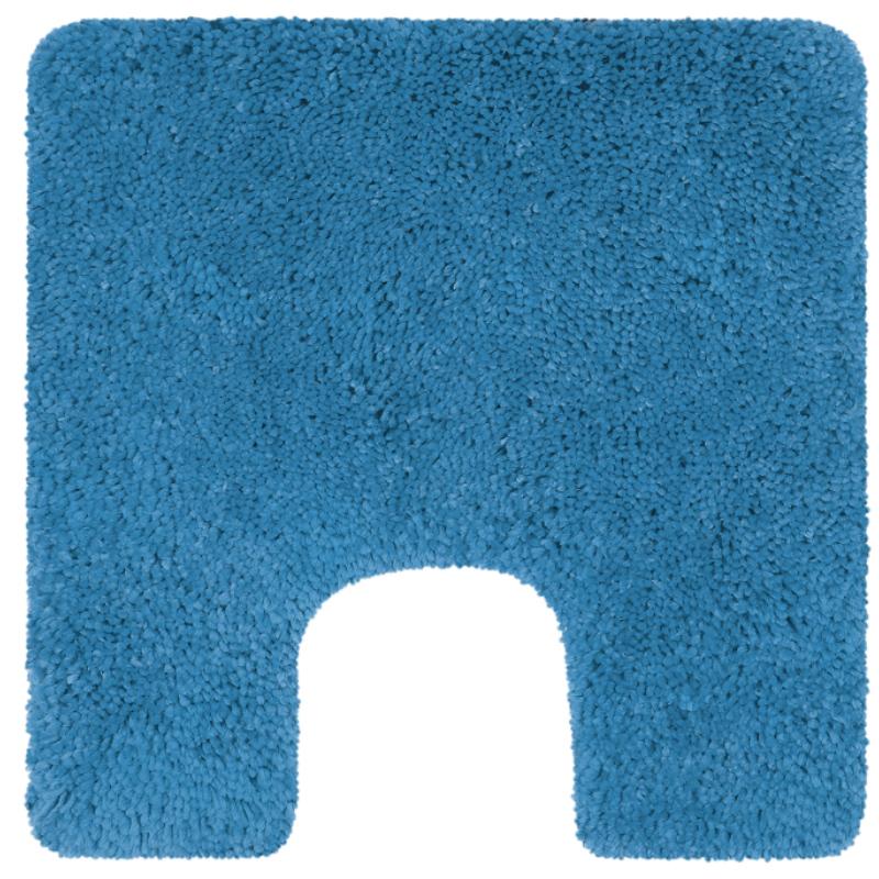 Коврик для туалета Spirella Highland 55х55см, голубой