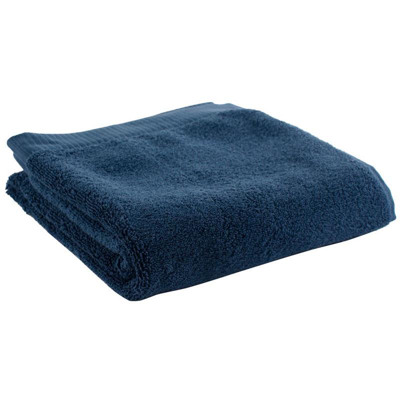 Полотенце для рук темно-синего цвета Essential 50х90 фото