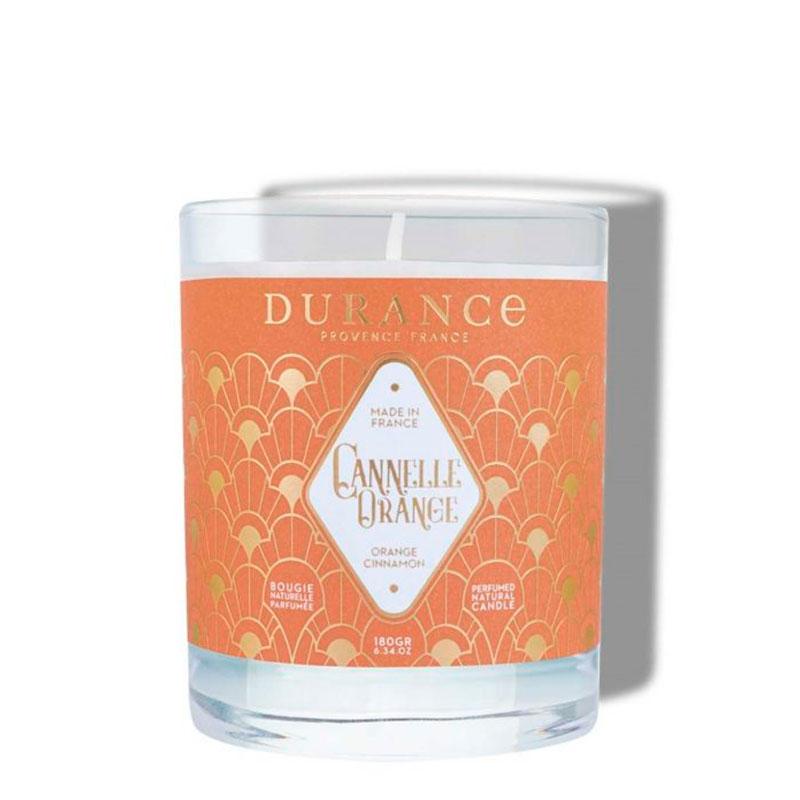 Свеча ароматическая Durance Orange Cinnamon