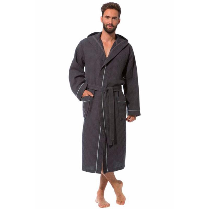Халат мужской Morgenstern Ben размер XL, цвет антрацит