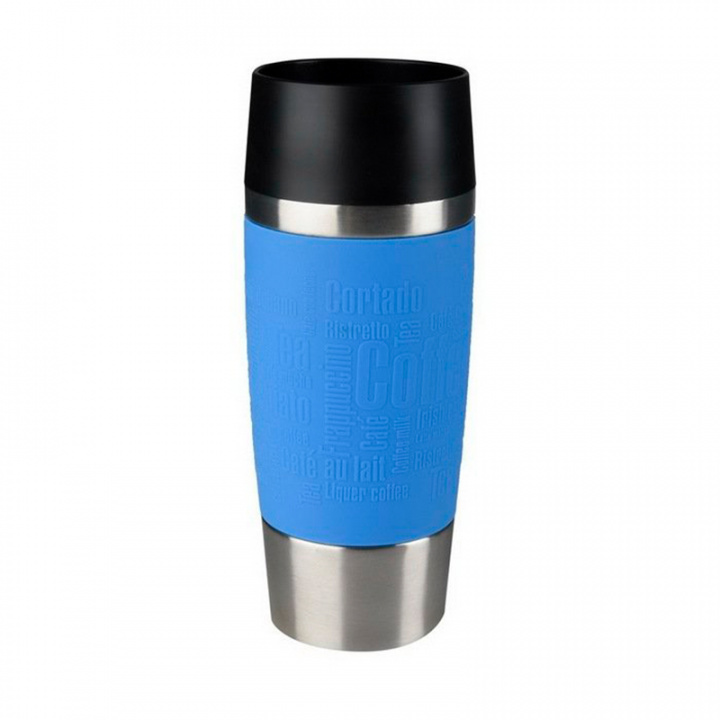 Термокружка EMSA TRAVEL MUG 360 мл, цвет голубой