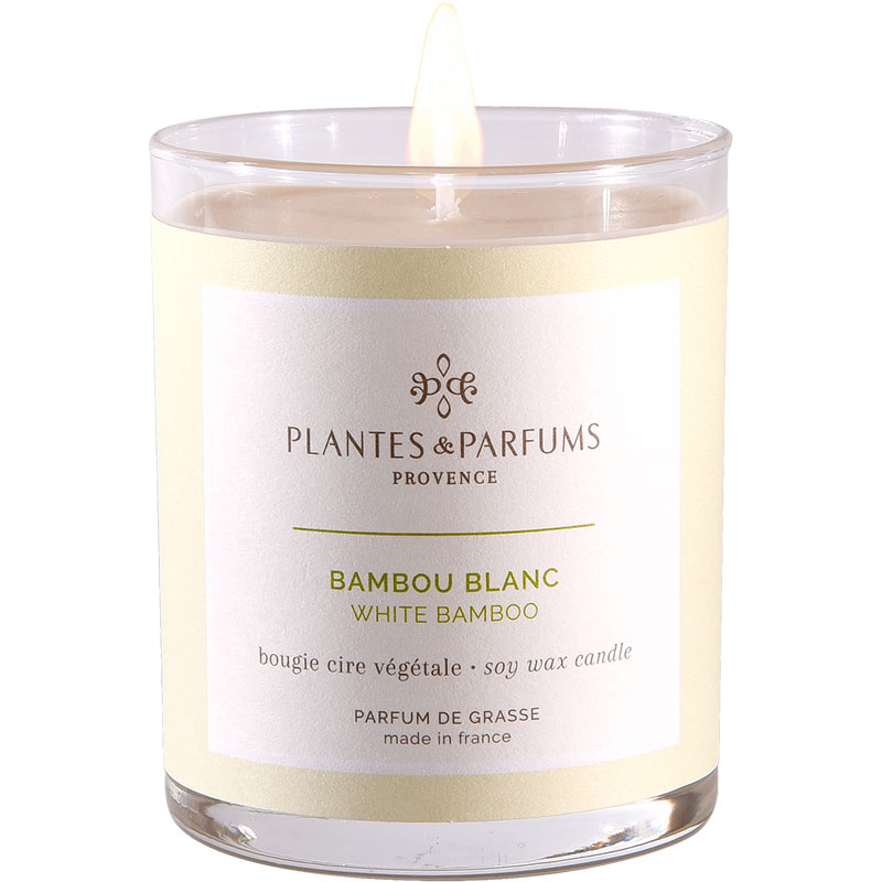 Свеча ароматическая Plantes et Parfums provence Белый