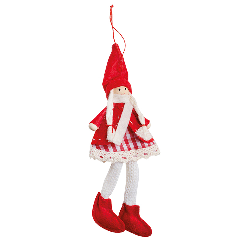 Елочное украшение Hogewoning Hangers Colour Кукла 16см