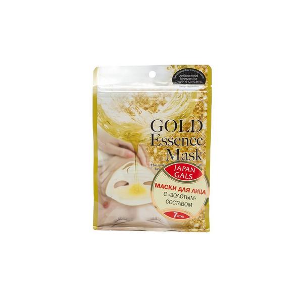 Маска для лица Japan Gals с «золотым»