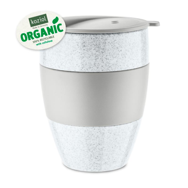 Термокружка Koziol Aroma To Go 2.0 Organic, цвет серый