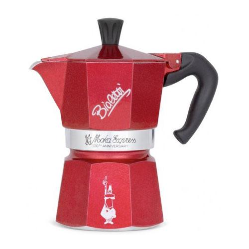 Кофеварка гейзерная к столетию Bialetti MOKA EXPRESS на 3 чашки