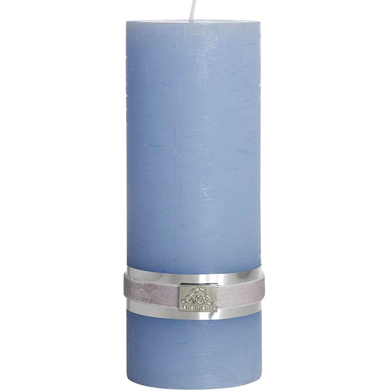 Свеча Lene Bjerre Rustic 20x7,5см, цвет светло