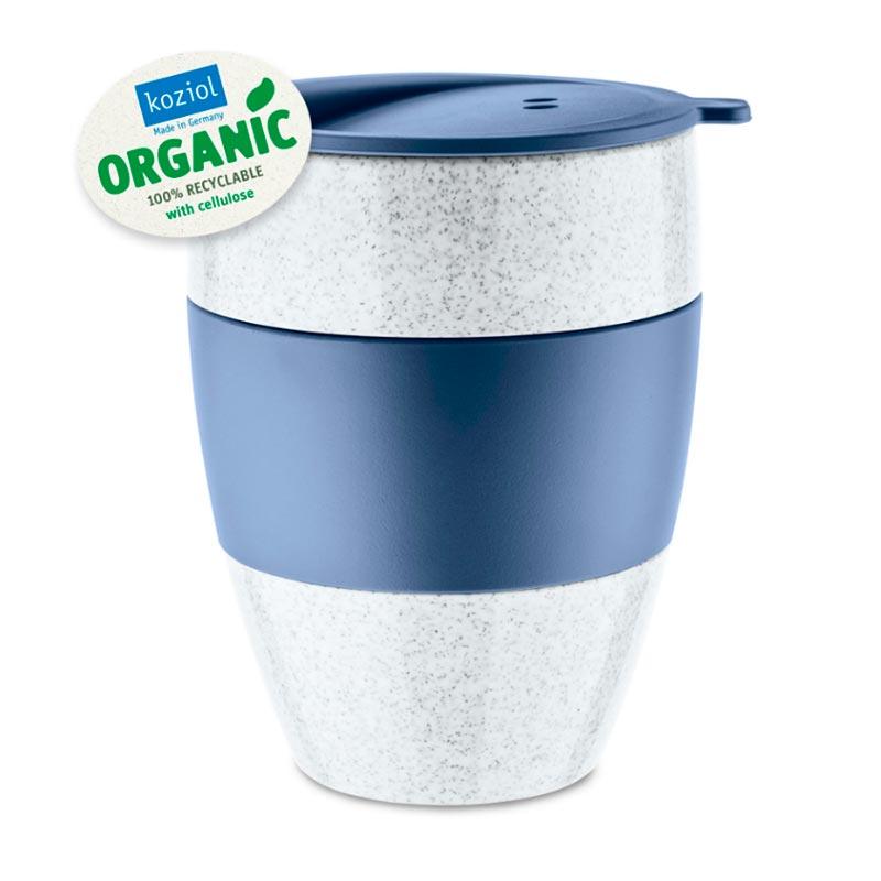 Термокружка Koziol Aroma To Go 2.0 Organic, цвет синий