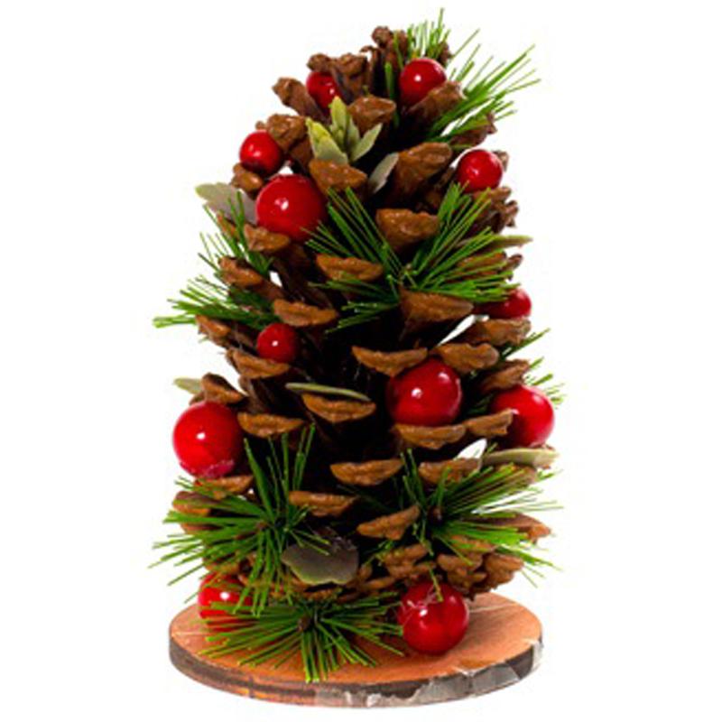 Шишка Hogewoning Christmas Cone Tree Pinecone 15см