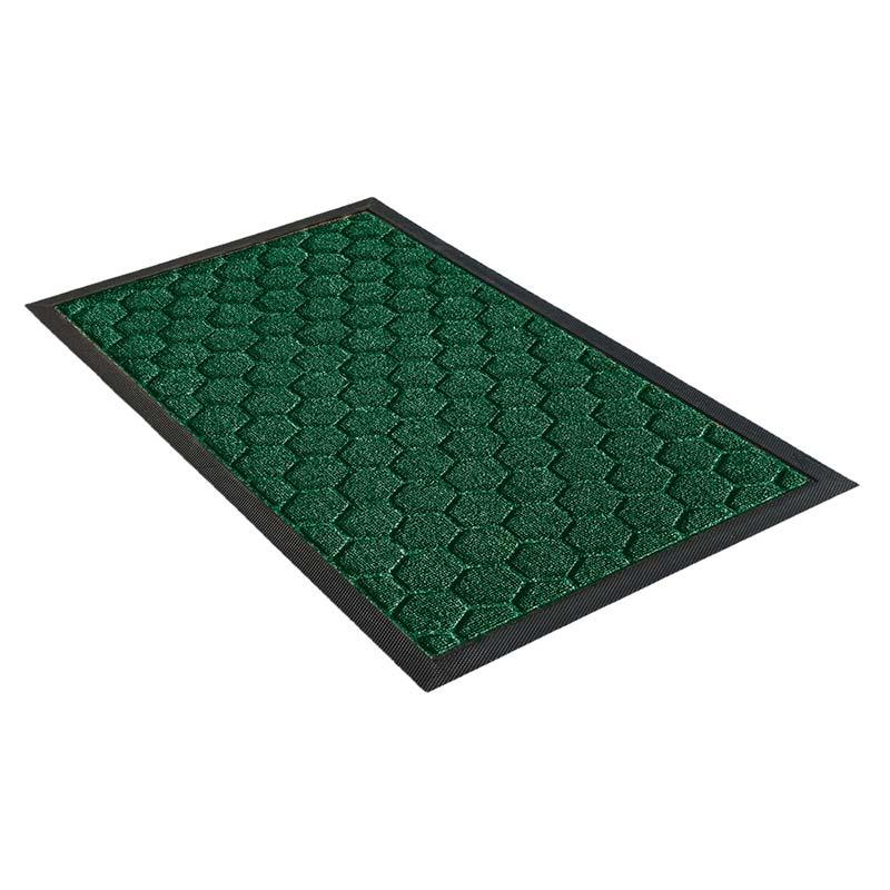 Коврик придверный Shahintex LUX mix, зеленый